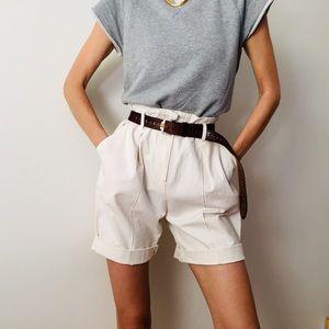 ✨HostPick✨Vintage Paperbag Shorts
